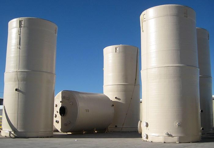 acid storage vessels for Daniel Mechanical