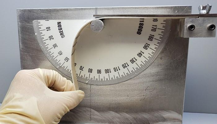 Maxguard gelcoat mandrel bend test