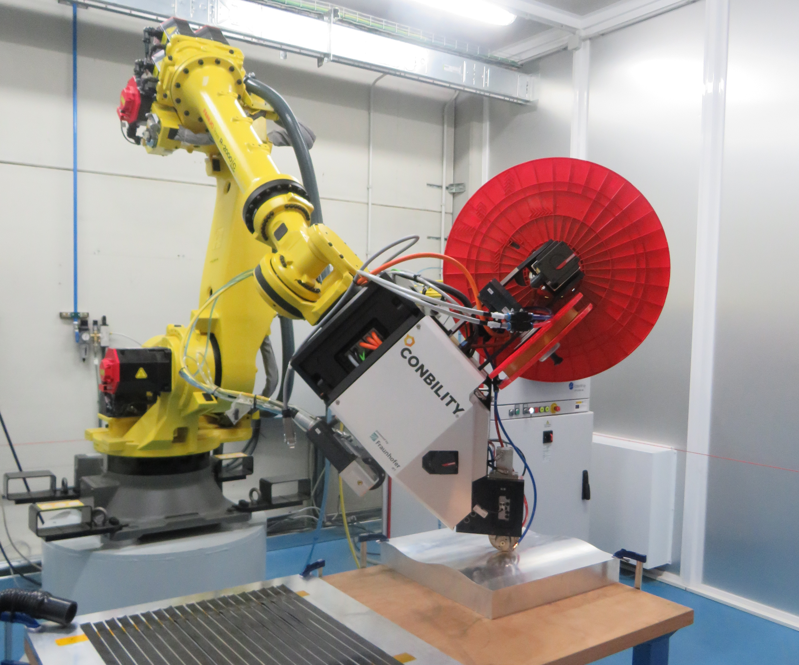 automated tape laying