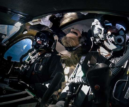 Virgin Galactic second spaceflight of SpaceShipTwo