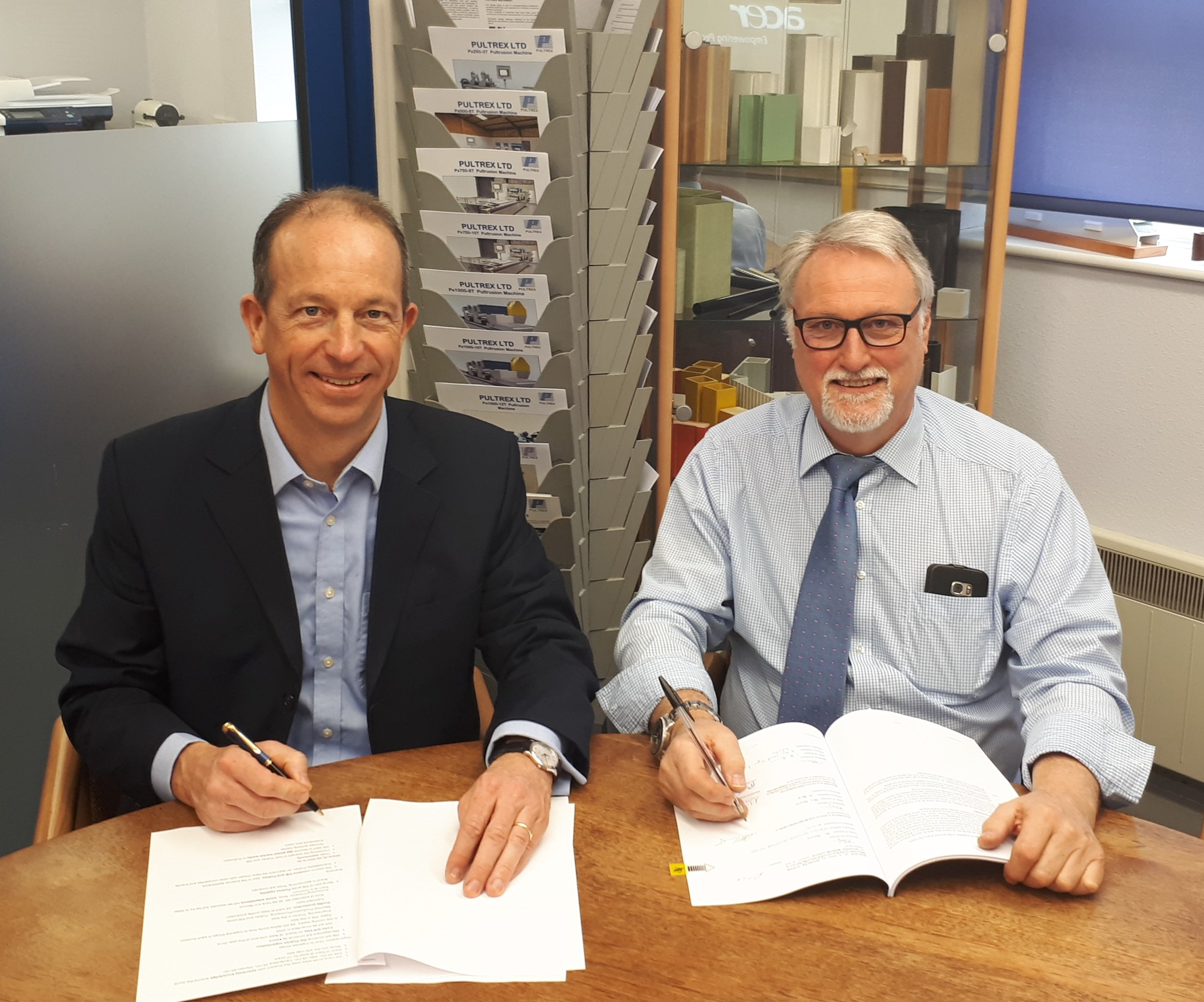 kraussmaffei acquires pultrex pultrusion