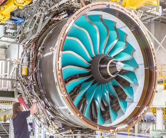 aerospace composites, rolls-royce, UltraFan