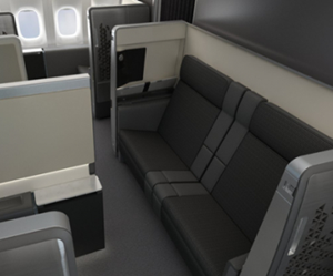 composite materials, airline seating