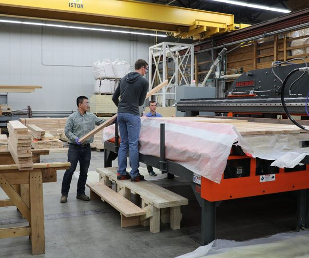 Washington State University recycled carbon fiber for construction
