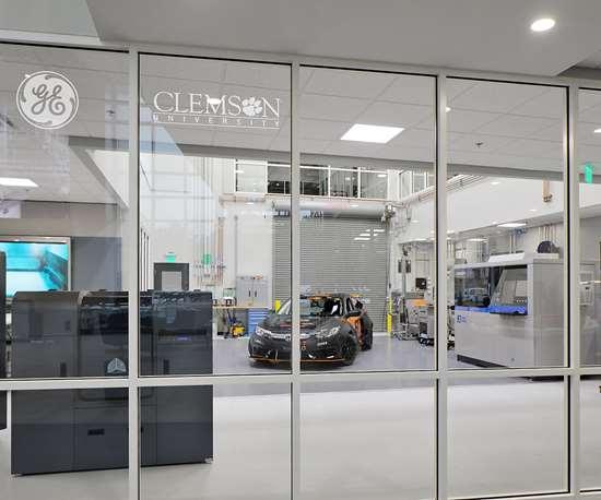 General Electric GE Clemson University open 3D printing lab