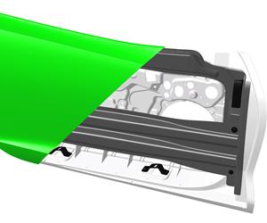 Teijin composite automotive carbon fiber sheet molding compound SMC