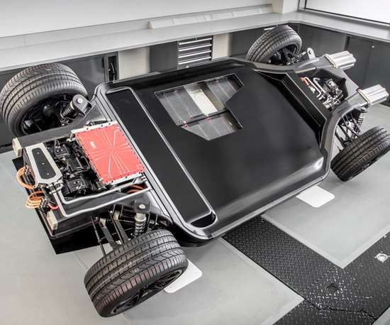 Williams Advanced Engineering carbon fiber for automotive