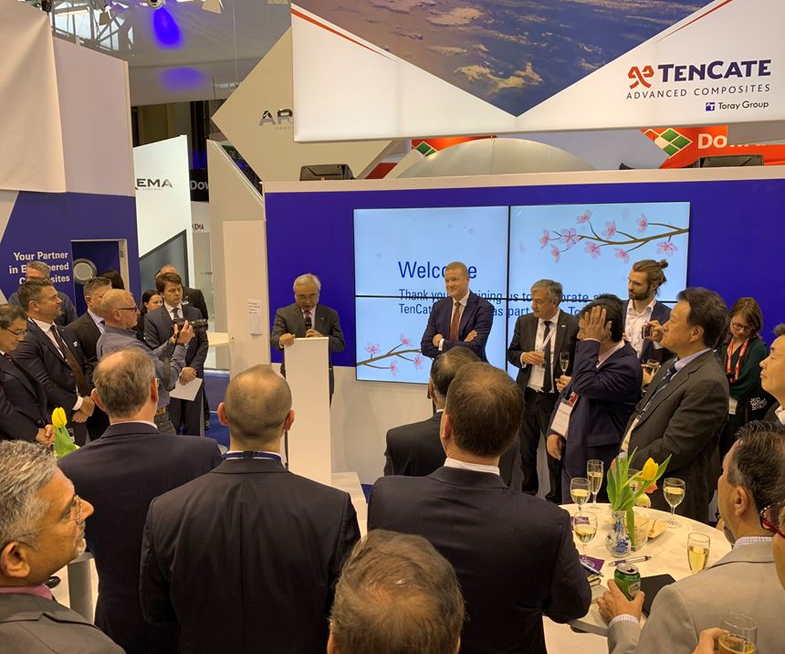TenCate Advanced Composites changes to Toray Advanced Composites JEC World 2019