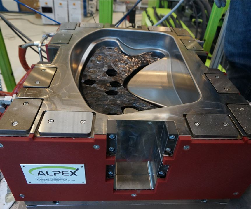 compression molding, automotive composites