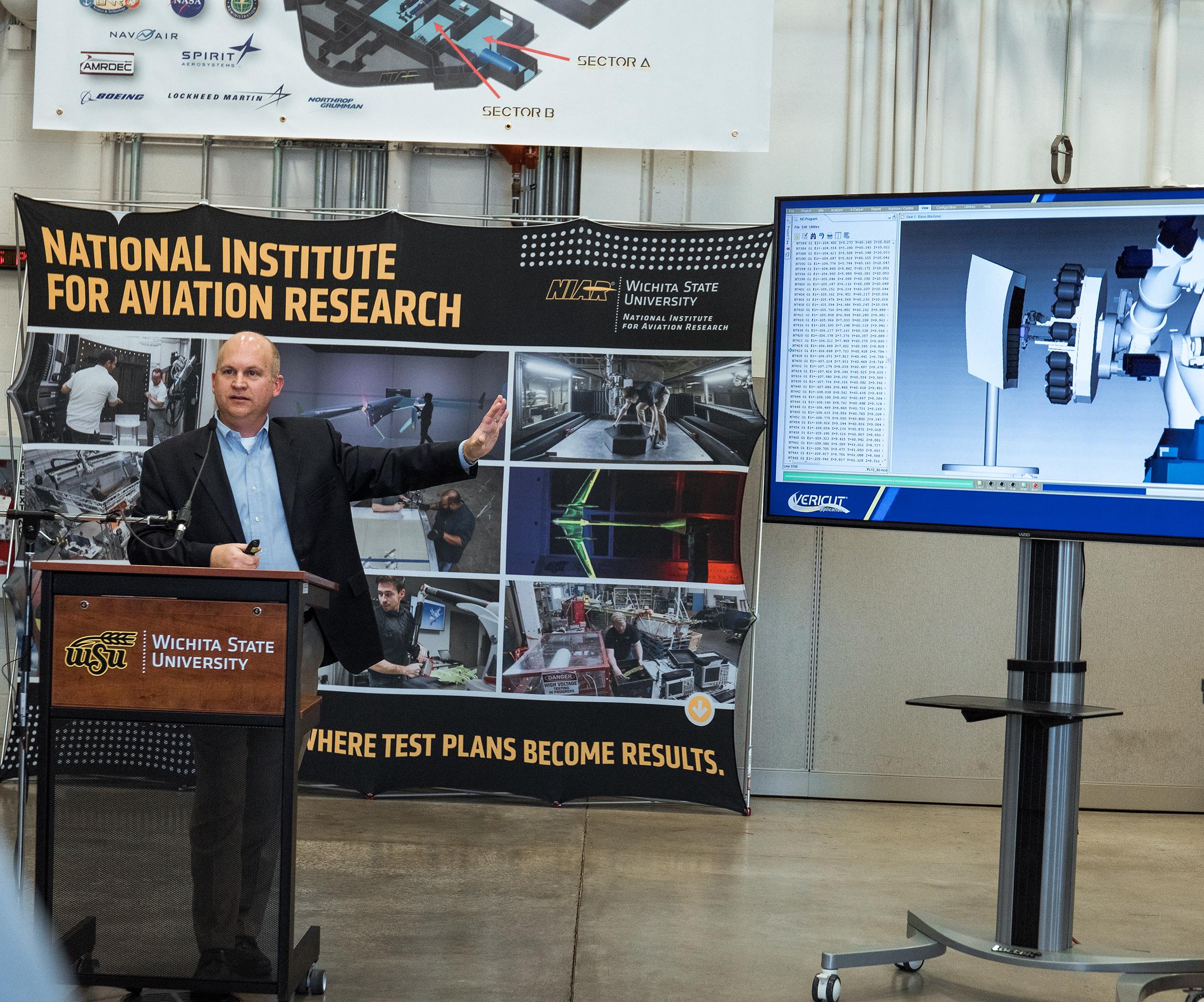 Wichita State University receives aerospace composites grant