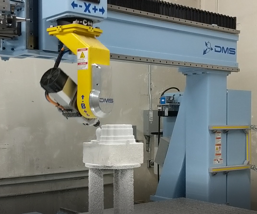 machining, 5-axis machining, composites machining