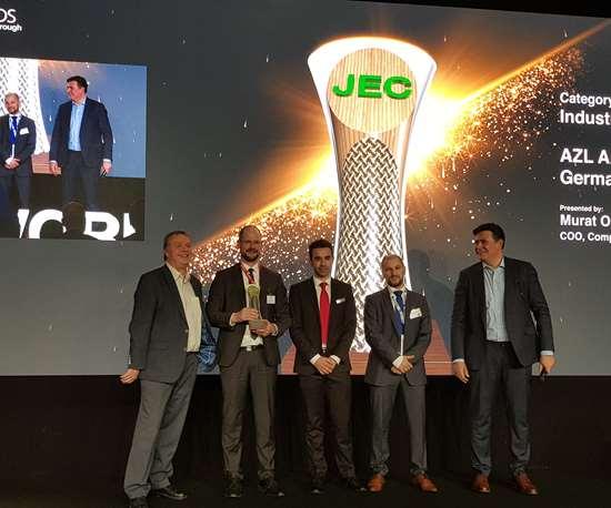 JEC World 2019 AZL award machining composites