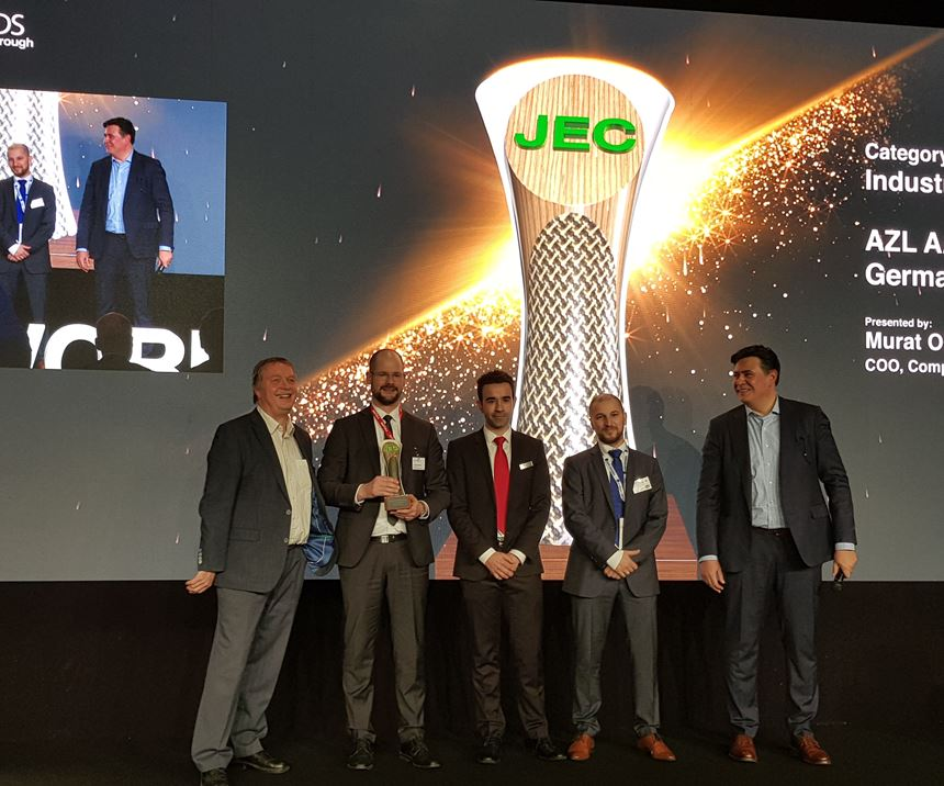 JEC World 2019 AZL award machining composites