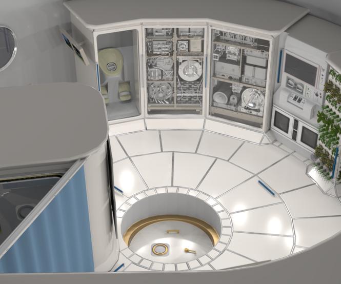 deep space habitats