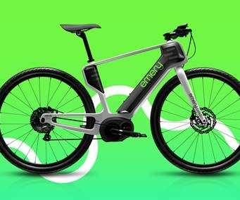 3D-printed bicycle