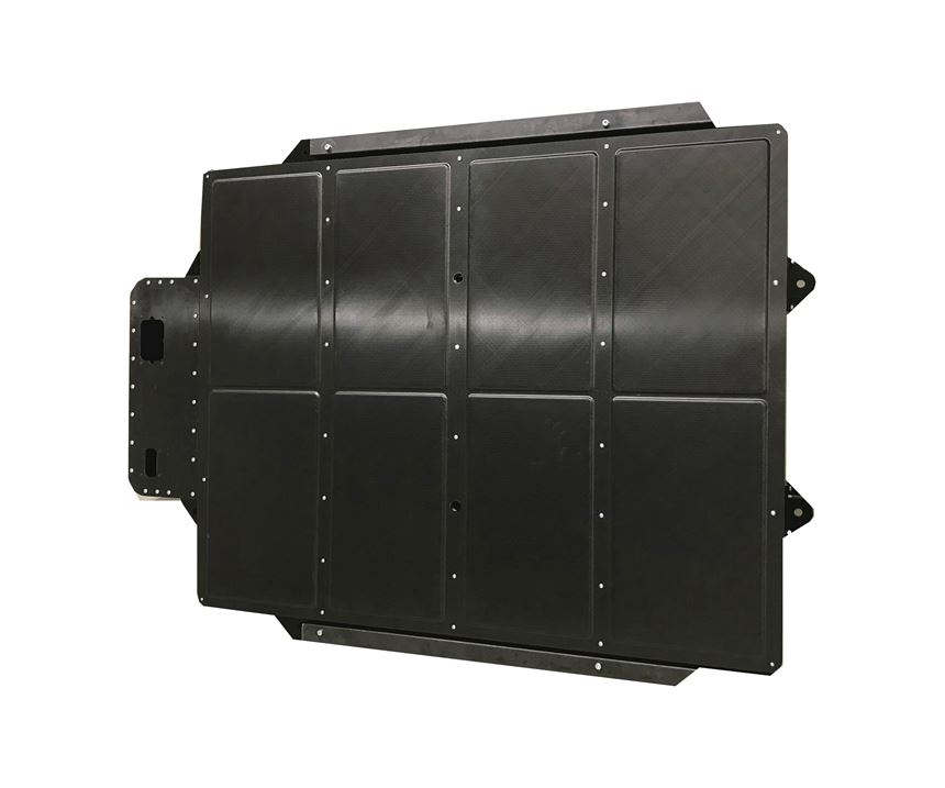 carbon fiber battery box for electric vehicles