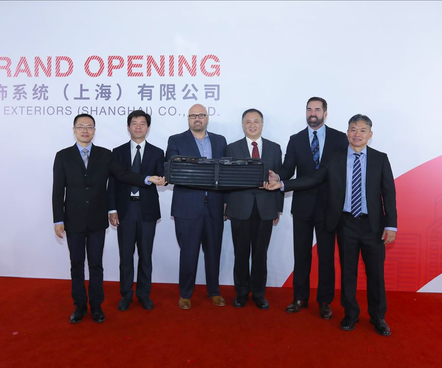 Automotive exterior systems, China, liftgates, composites