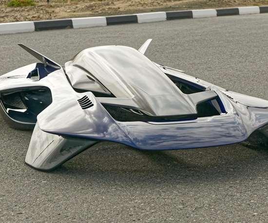 飞行车,碳纤维
