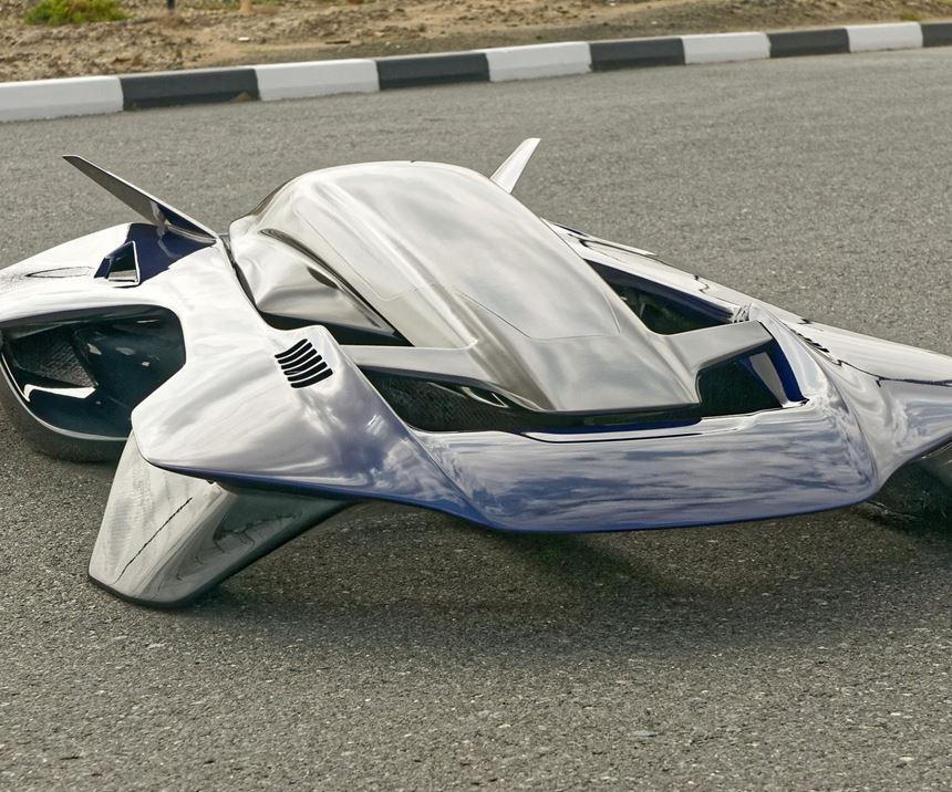 flying car, carbon fiber