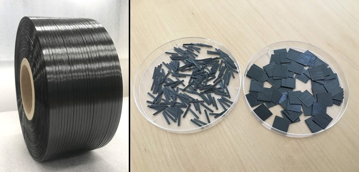 carbon fiber composite tapes for aerospace