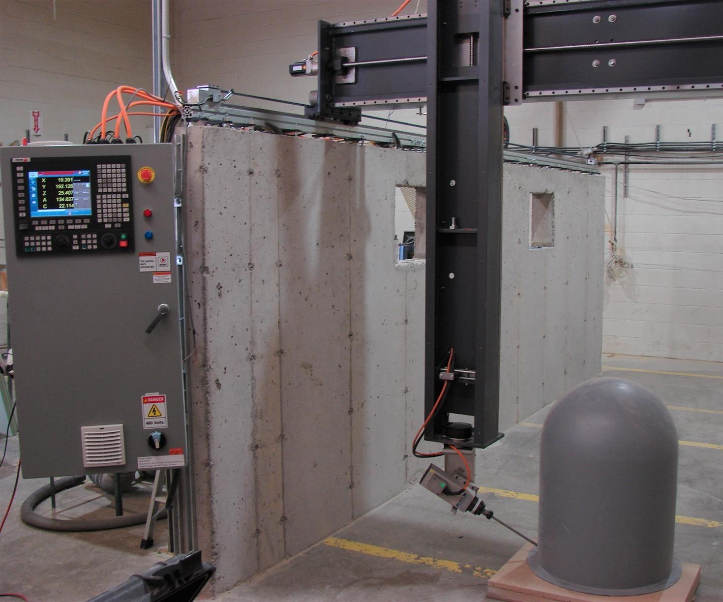 5 axis machining, composites machining, carbon fiber
