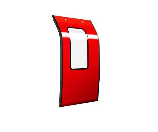 fire resistant biocomposite door