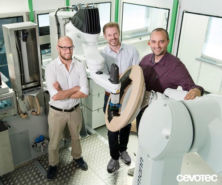 Cevotec additive layup automation