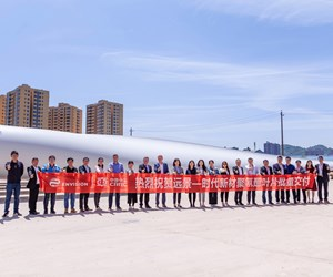 Covestro delivers first order of polyurethane resin for wind blades