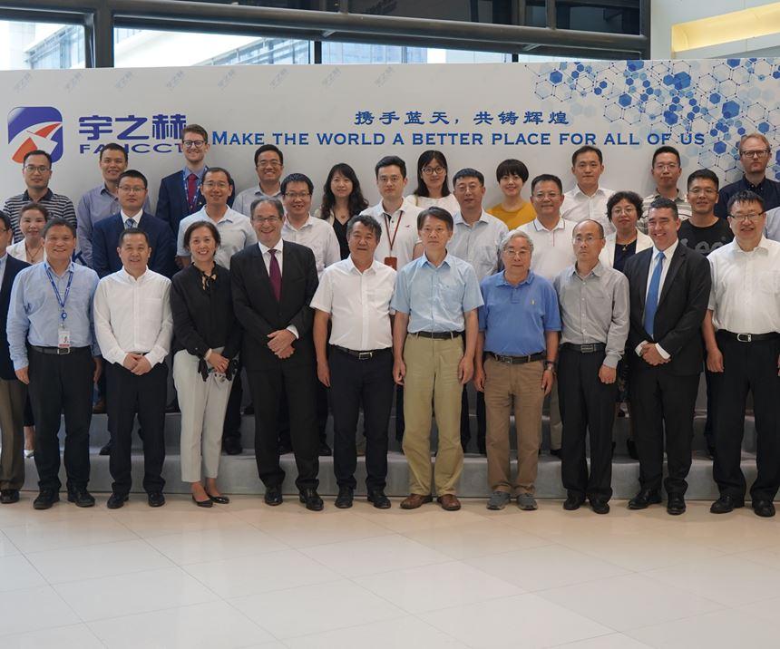 Hexcel celebrates new aerospace facility Shanghai