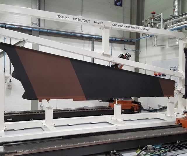 aerospace composites for the Wing of Tomorrow program