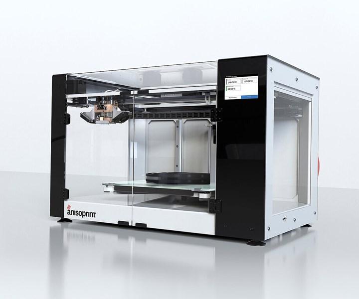 continuous-fiber 3D printer