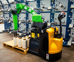 Collaborative robotics system built for larger fiber loads