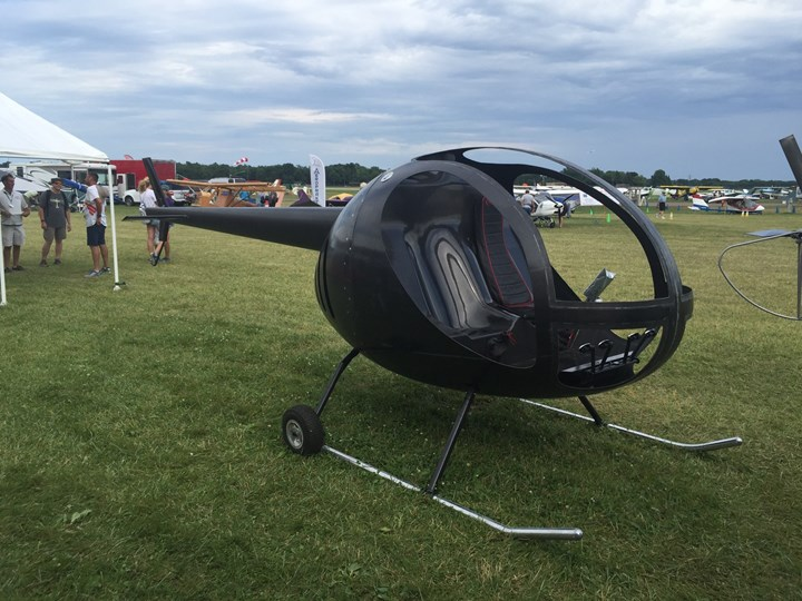 Carbon Fiber Composites Inc. composite helicopter