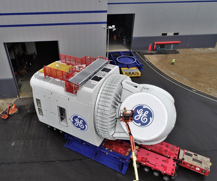 GE Renewable Energy offshore wind nacelle