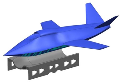 additive manufacturing composite fuselage demonstrator tooling