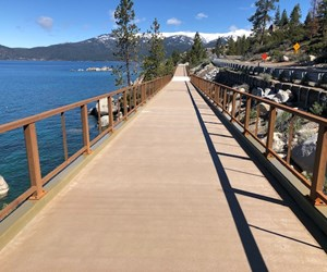 FRP system used in Nevada shared-use path project