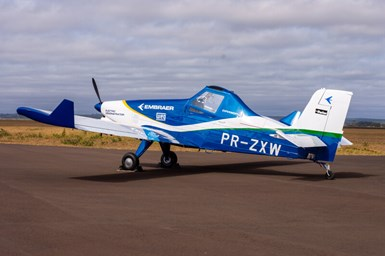 Embraer Develops Electric Propulsion Demonstrator Aircraft