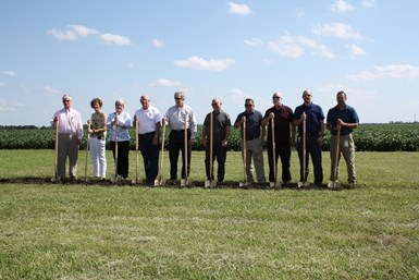 Park Aerospace composites groundbreaking for new facility