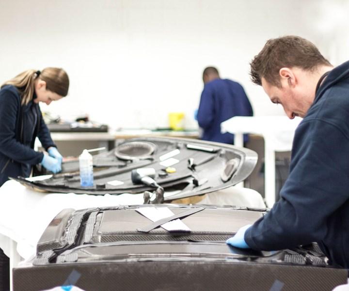 Prodrive composites laminates for automotive