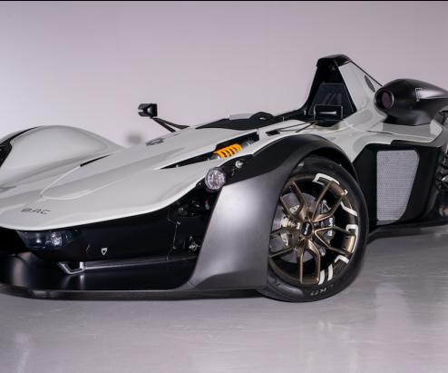 BAC graphene enhanced composite car panels