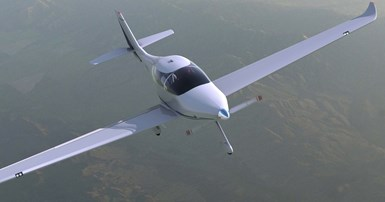 eFlyer 4 electric airplane
