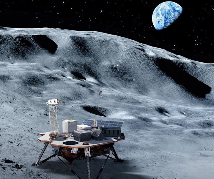 space exploration, lunar landers
