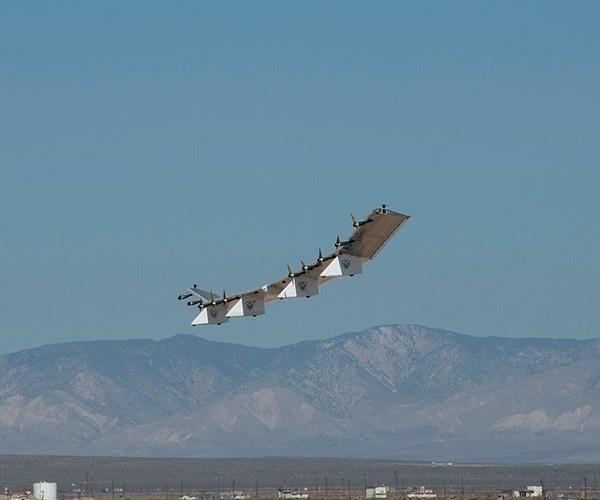 HAWK30 unmanned aircraft system launch