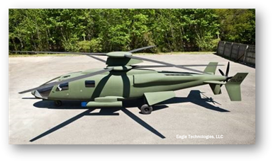 Sikorsky composite mockup of X2 aircraft
