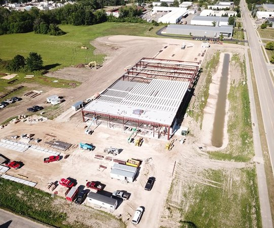 Plascore aerospace manufacturing facility expansion