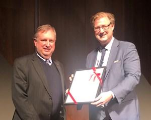 Murray Scott awarded ICCM Scala Award