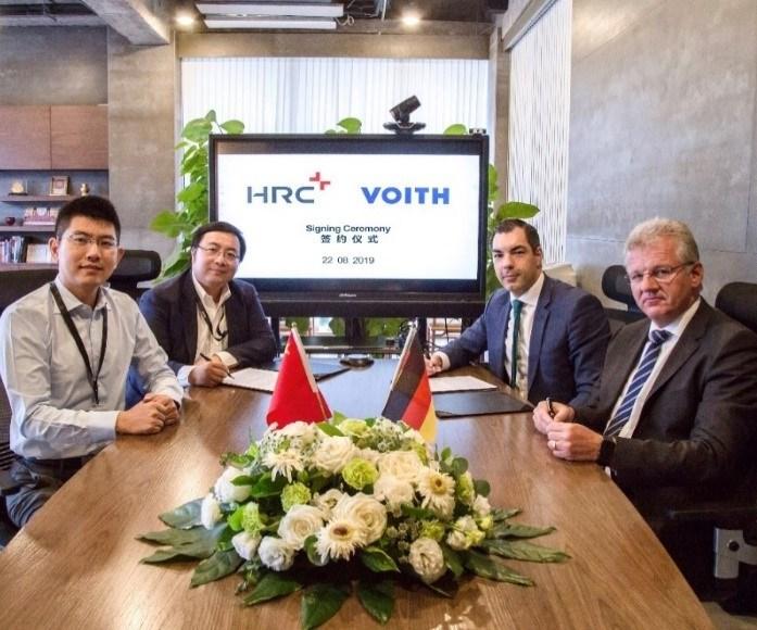 Voith HRC composite hydrogen pressure tanks