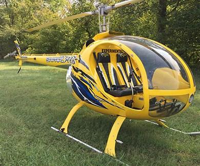 Safari composite helicopter