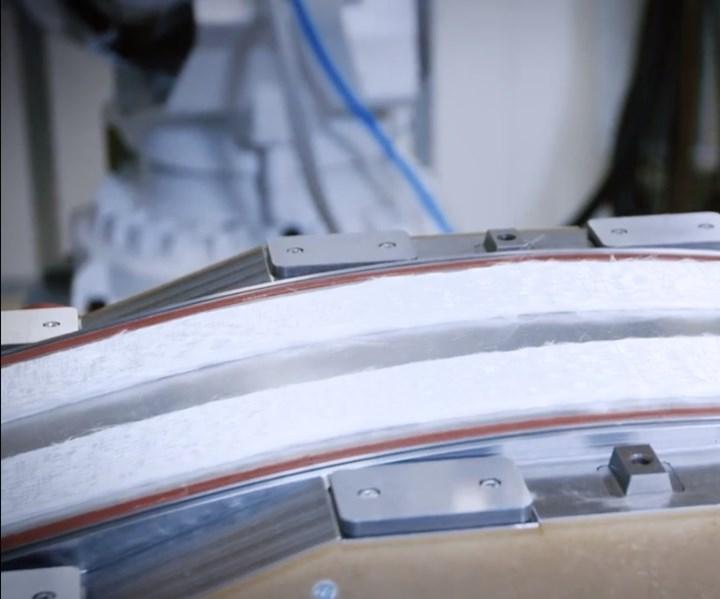 glass fiber reinforced composite automotive leaf spring