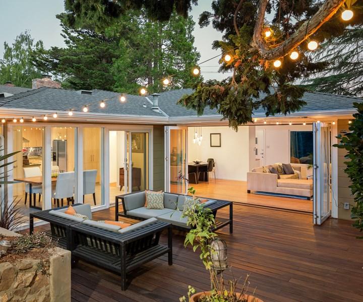 wood composite deck paneling